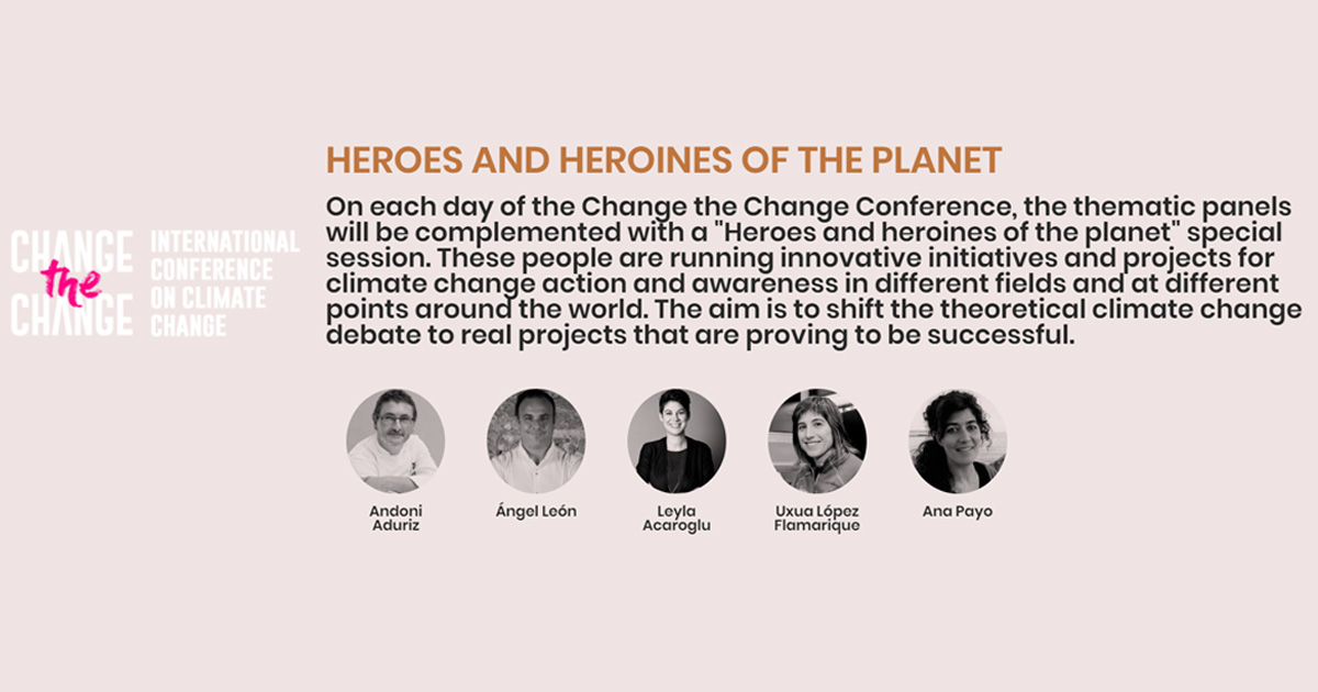 change the change heroes and heroines